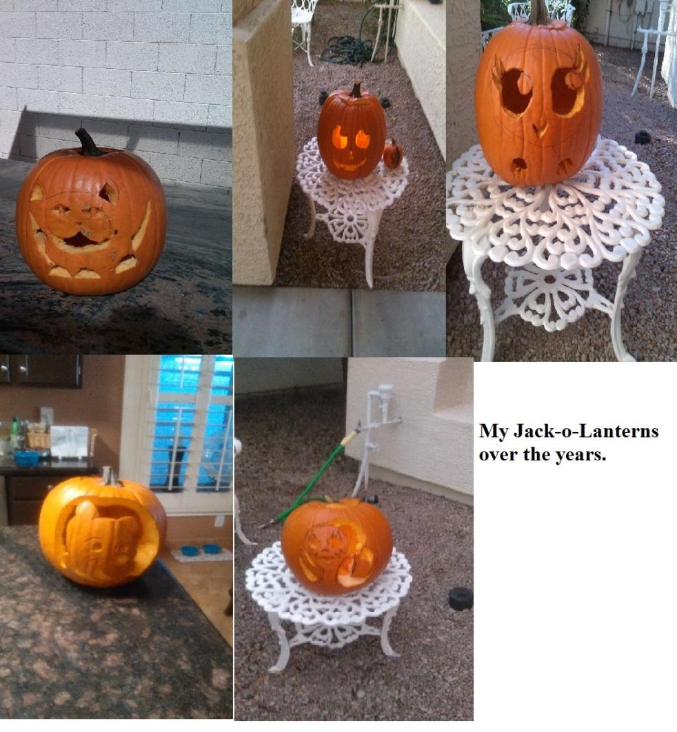 My jack o lanterns